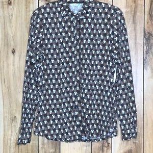 Boden Hearts Long Sleeve Women's Shirt